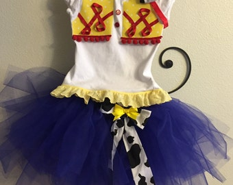 Toy Story Jessie Tutu Outfit