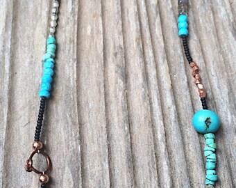 Summer Evenings Handmade Necklace