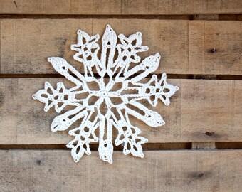 Xmas Decoration - Snowflake Doily