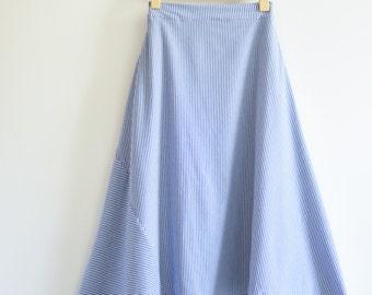 IKI long Asymmetrical Skirt