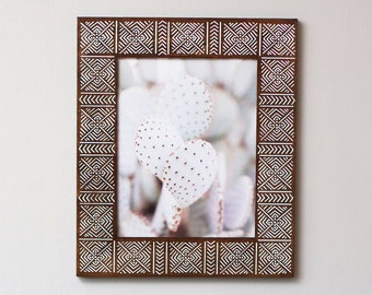11x14 Picture Frame | 11x14 | Mudcloth Style Frame