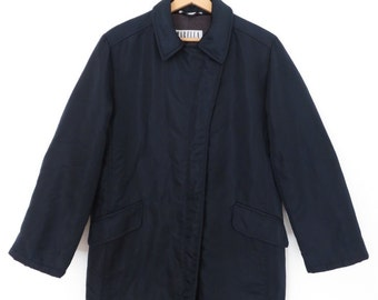 MAX MARA Marella Vintage  Navy Blue Women's Winter Down Jacket, sz. 6 US