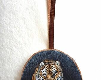 Miniature gold leaf - Tiger