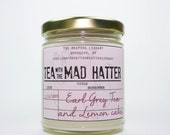Tea With the Mad Hatter - Alice's Adventures in Wonderland Inspired Candle