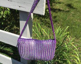 purple pop tab purse