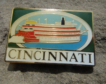 Vintage Cincinnati Magnet Vintage