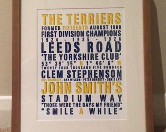 Huddersfield Word art