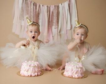 Girls Ivory Tutu - Toddlers Ivory Tutu - Flower Girl Tutu - Ivory Flower Girl - Ivory Flower Girl Tutu - Cream Flower Girl - Girls Tutu