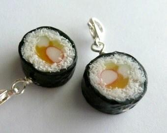 Sushi Miniature Food Jewelry Japanese Jewelry Sushi Charm