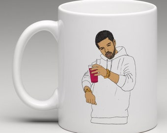 Drake Dancing Mug OVO 6 God 11 oz