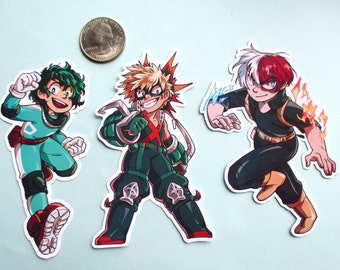 Tough Guys: My Hero Academia Stickers
