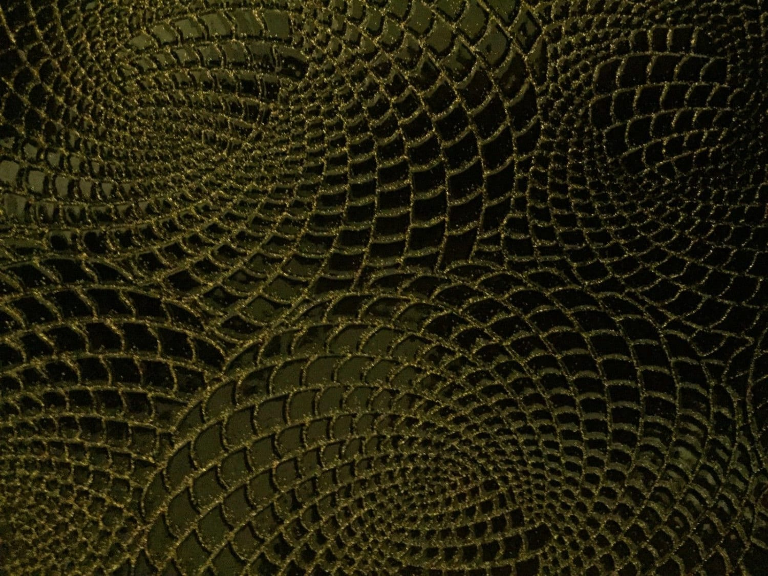 Gold black two tone galaxy swirl vinyl fabric sold by the for Galaxy headliner fabric