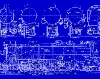 Train Steam Engine - #343