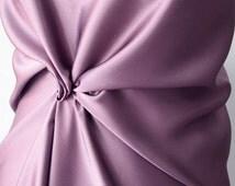 dusky pink satin fabric dark pink pure silk satin medium weight 85g per square meter European production blouse top dress toga kaftan