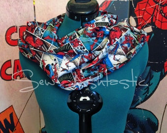 Spiderman Infinity Scarf