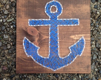 MADE TO ORDER - Anchor String Art