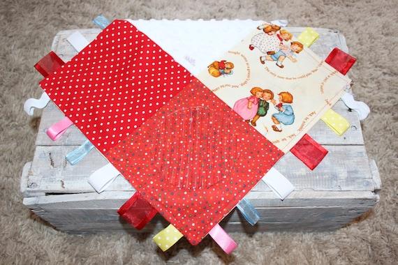 Nursery Rhymes Baby Taggie Blanket