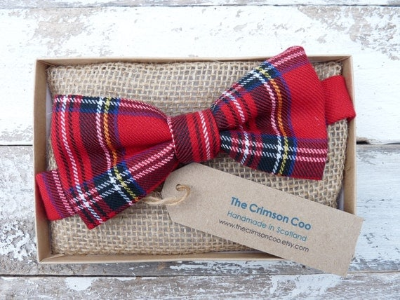 Scottish Wedding Gifts: Tartan Bow Tie Bowtie Scottish Gift Mens Gift Wedding Tie