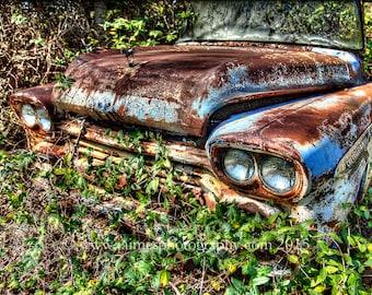HDR Photography - Junkyard Treasures - Rusty Gold