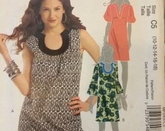 McCalls Dress and Tunic Pattern MP349
