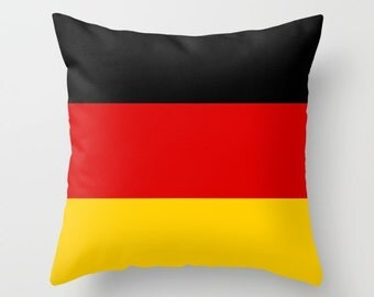 Germany Flag Pillow Cover Germany Indoor Pillow Cover Germany Outdoor Pillow Cover German Pillow Cover German Flag Pillow Cover Olympics