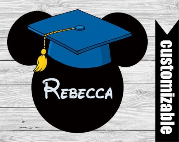 Mickey graduation | Etsy |Graduation Mickey Mouse Shirts