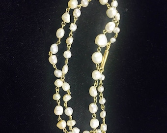 Fresh Water Pearl 14K Necklace