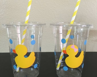 Rubber duck party cups