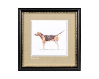 Foxhound Print