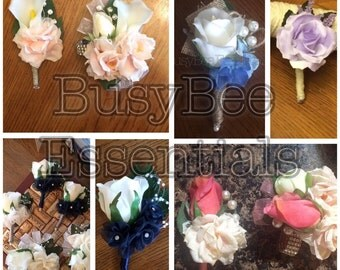 Boutonnieres and Corsages for All Occasions!