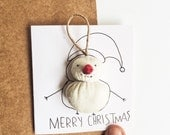 Christmas Card - Snowman Ornaments - Funny Christmas Cards for Boyfriend