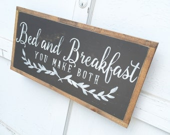 1'X2' Bed And Breakfast Sign