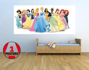 Disney Princess - KIDS - Massive Wall Poster/Picture/Art 1.45m x 0.8m