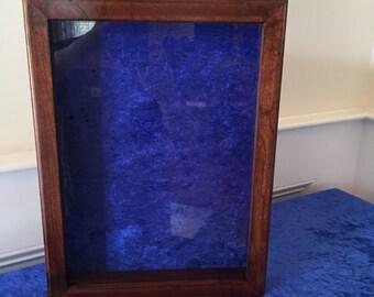 Framed Shadow Box: 16 x 20 inches; Aug - Sep SALE