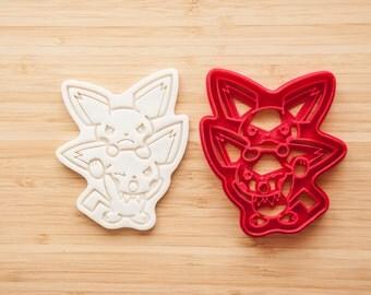 Pichu Pokemon Cookie cutters Fondant
