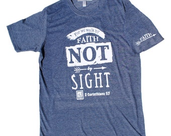 Not by Sight - Antique Denim