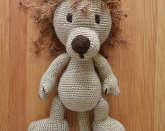 Handmade Knitted Plush Toy - Lion