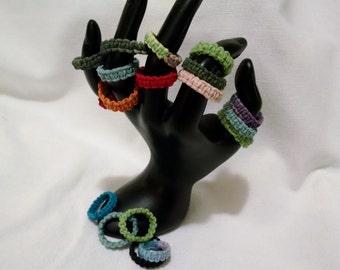 Hemp Woven Rings