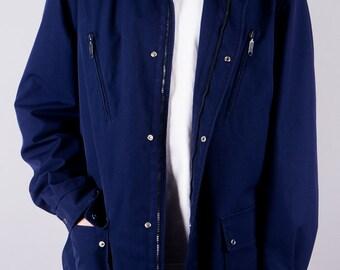 Vintage jacket - vintage men's jacket - Obsidian - 80s men's jacket - rain jacket - vintage 1980 - hipster - casual - outdoor - coat