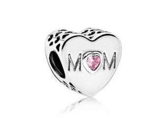 Sterling Silver Mothers Heart Charm