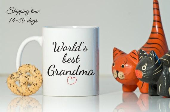 Meilleure grand m re cadeau du monde pour grand m re cadeau - Cadeau anniversaire grand mere ...