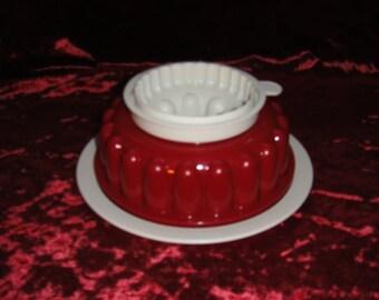 Tupperware Jelly Mold Vintage