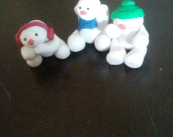 See no evil speak no evil hear no evil snowman