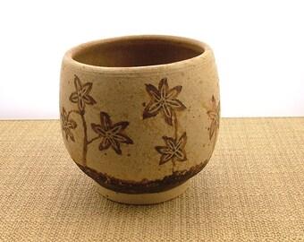 Handmade small stoneware Bowl - Chawan - Rustic Bowl