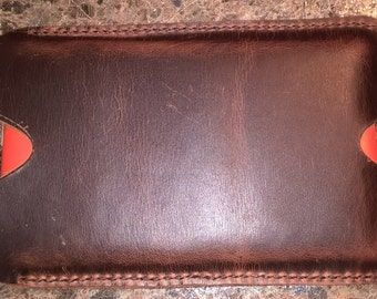 "Handmade Leather Kindle Fire 7"" Tablet Sleeve / Case"