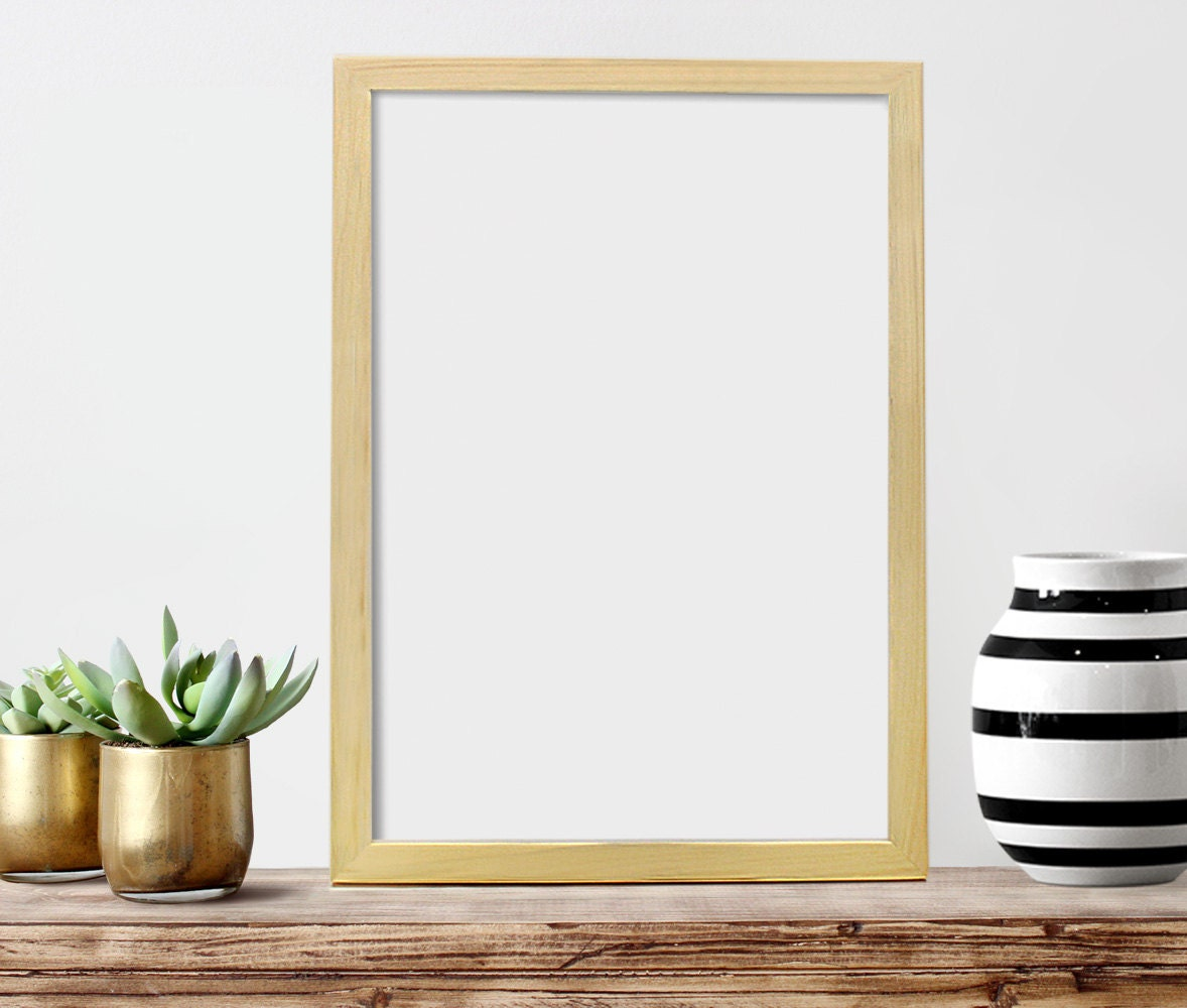 13x19 Poster Frames: 13 X 19 POSTER Frame Wood Picture Frame By CheekySheepWoodShop
