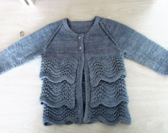 baby pullover stricken etsy. Black Bedroom Furniture Sets. Home Design Ideas