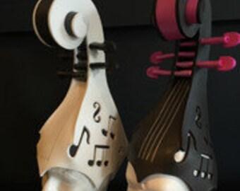 Violin foam hat/foamwig/hat/cosplay/theme