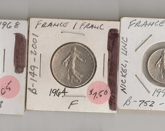 5 France Coins-C5
