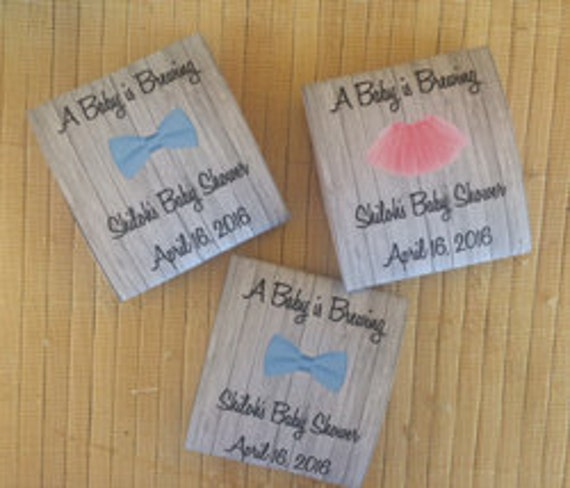 40 Personalized Tea Packets, baby shower tea favors, baby shower tea party favors, tutu baby shower favors, bowtie baby shower favors